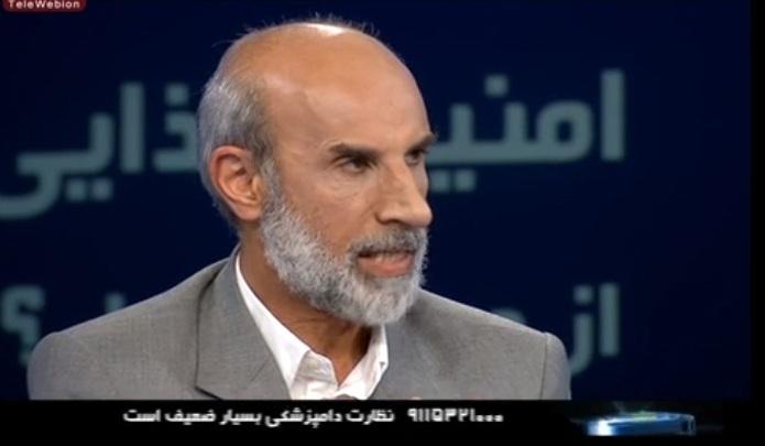 حضور رئیس سازمان دامپزشکی در برنامه گفتگوی ویژه خبری شبکه دو سیما